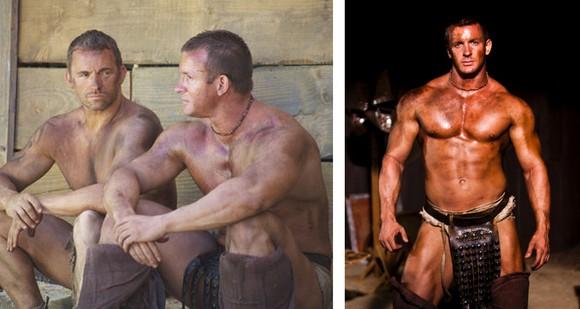 gay gladiators blowjob